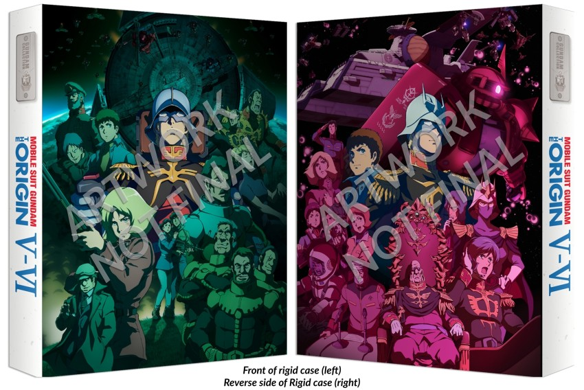 Gundam origin 5 & 6 both rigids