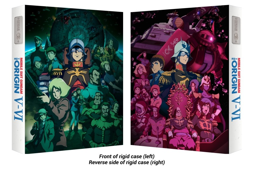 Gundam Origin rigid cases