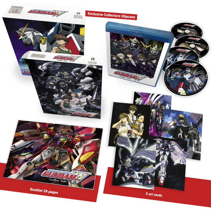 Gundam Wing Endless Waltz Blu-ray Ltd. Collector's Edition w/ Bonus AllTheAnime.com Exclusive Storage Box