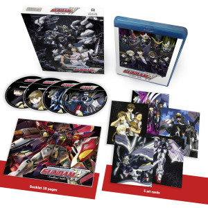 The general retail version of Gundam Wing: Endless Waltz Blu-ray Collector's Ed.