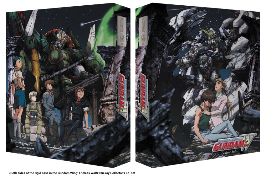 The rigid case included in the Gundam Wing: Endless Waltz Blu-ray Collector's Edition set