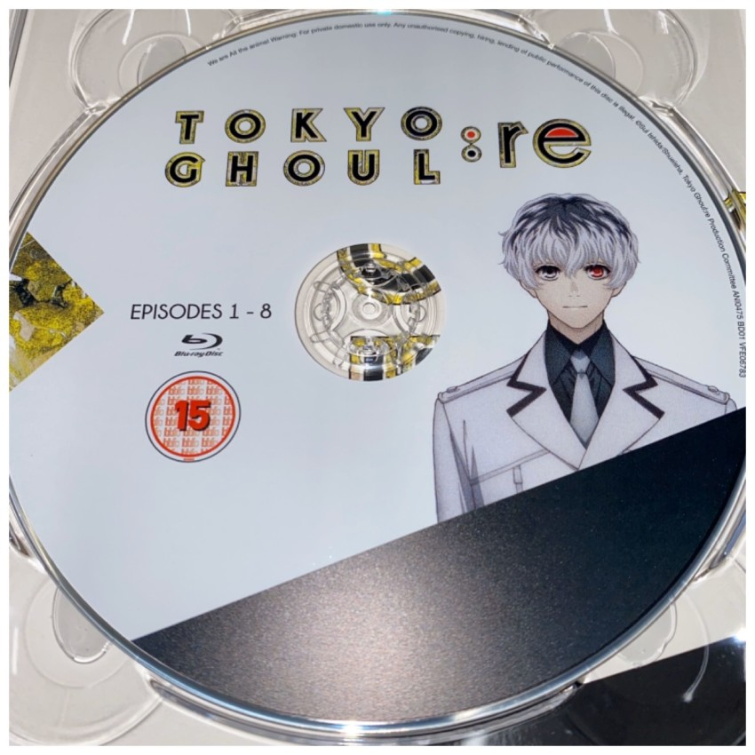 A closer look at Blu-ray disc 1