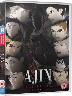 AJIN: Demi-Human - Season 2 DVD -- out 27th April 2020