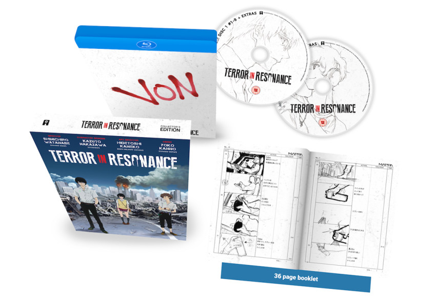 Terror in Resonance Collector's Edition Blu-ray - available 18th May 2020