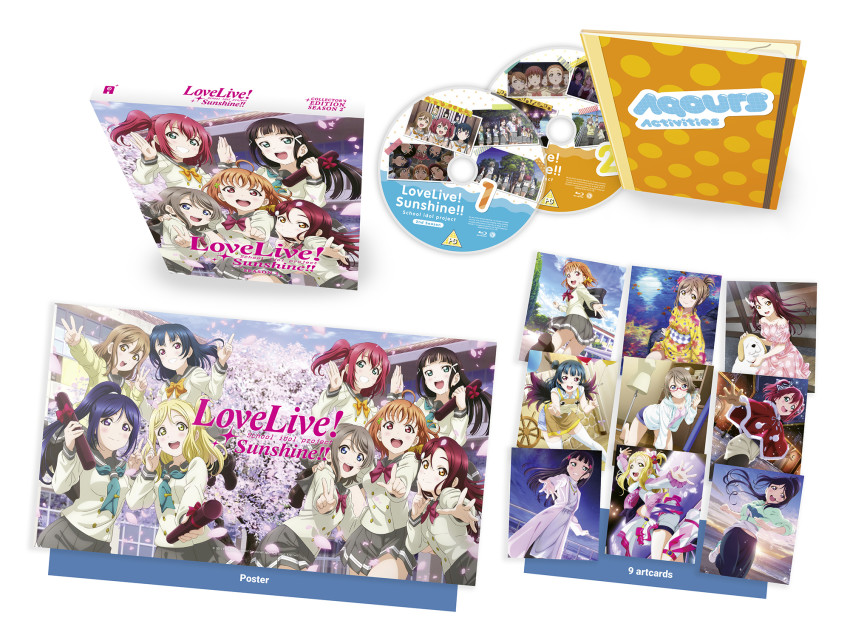 The Blu-ray Collector's Ed. set of Love Live! Sunshine!! Season 2 - out 18th May 2020