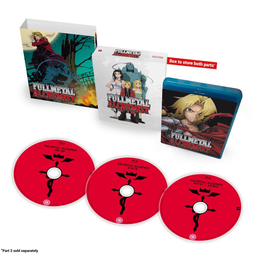 Fullmetal Alchemist: Part 1 - Blu-ray 2020 Collector's Ed.