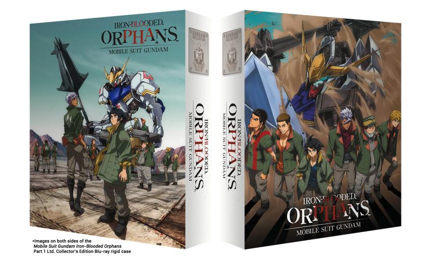 Gundam IBO rigid case both sides