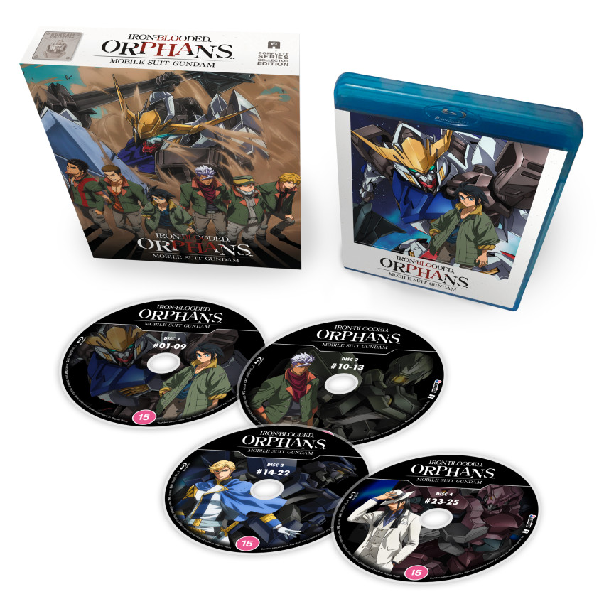 Mobile Suit Gundam Iron-Blooded Orphans: Part 1 Blu-ray Collector's Ed. - out 15th June