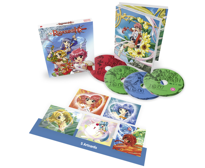 Magic Knight Rayearth: Part 2 - Blu-ray Collector's Ed. -- out 24th August