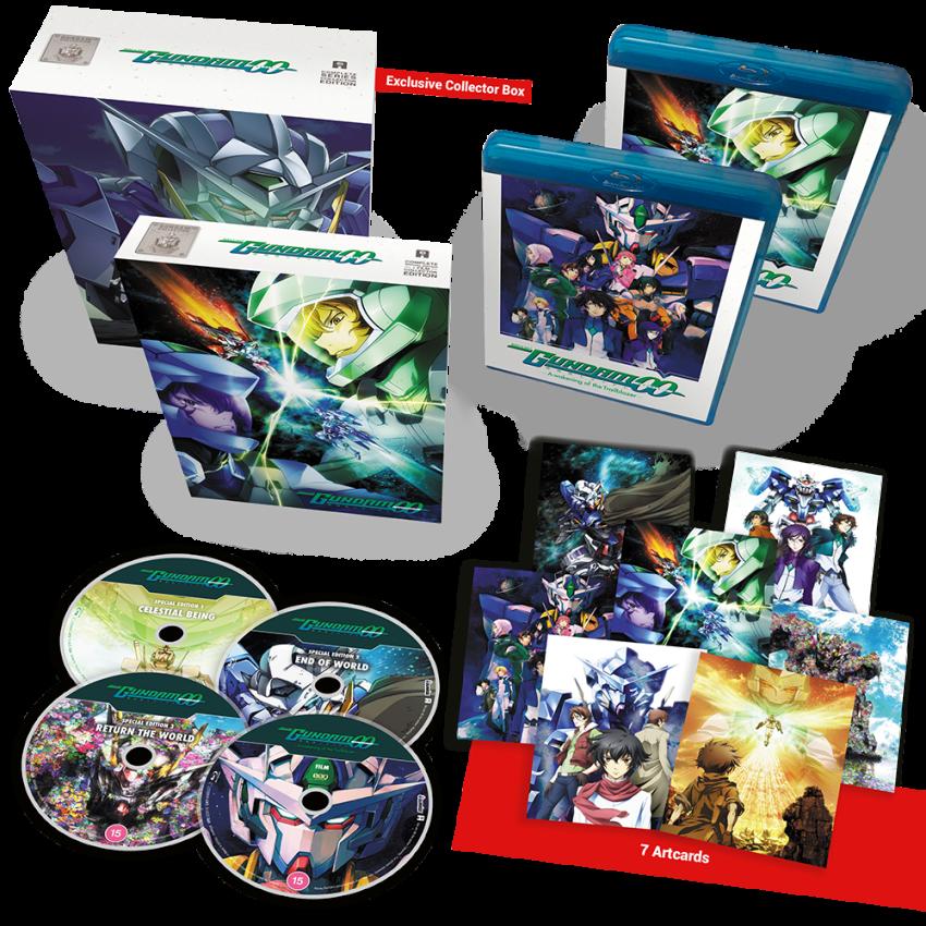 Mobile Suit Gundam 00 Film + OVAs Collector's Edition with AllTheAnime.com exclusive bonus box