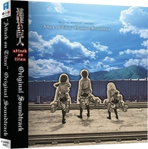 Attack on Titan Official Soundtrack - CD Version