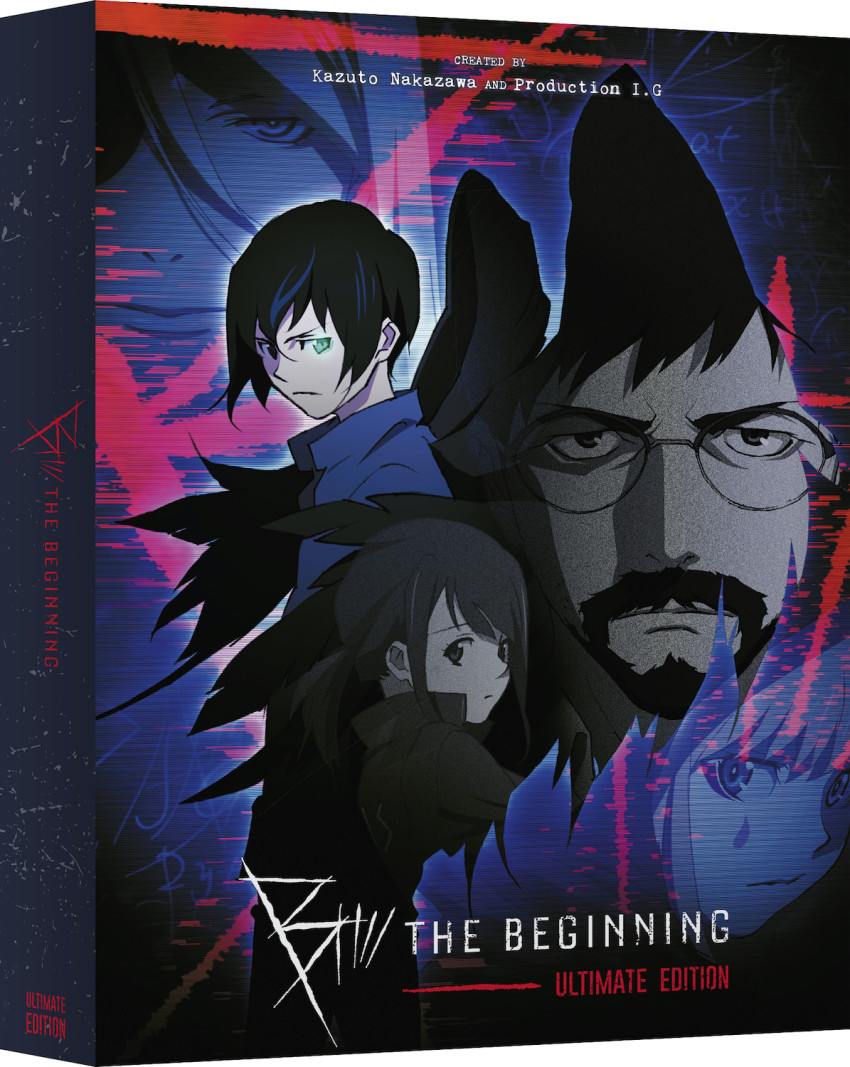 The slipcover/box of the B The Beginning Ultimate Edition set