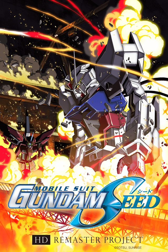 Promotional visual for Gundam Seed HD Remaster