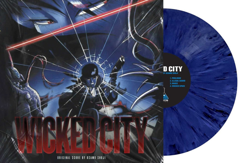 Wicked City_front and vinyl