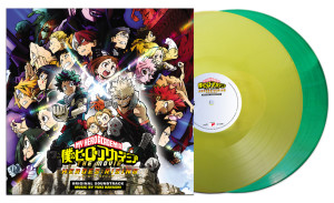 My Hero Academia: Heroes Rising vinyl soundtrack coming to All The Anime Shop