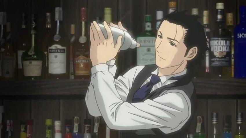 bartender shaking