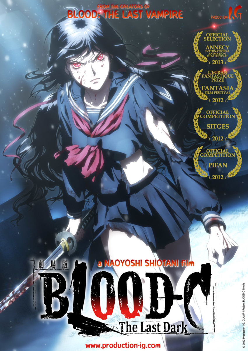 © 2012 Production I.G, CLAMP•ST/Project BLOOD-C Movie