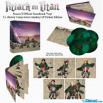 Attack on Titan Season 2 soundtrack comes to vinyl